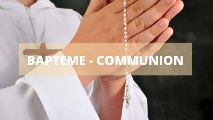 bapteme communion